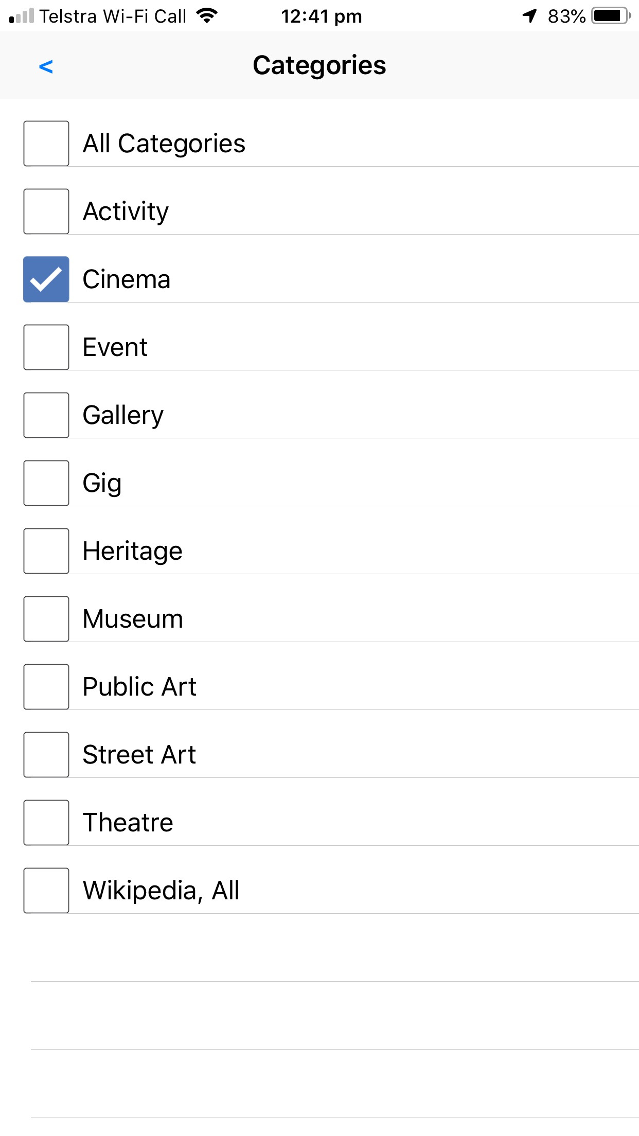 Select Things